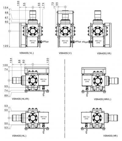 VSN40S Base Module NexGeneration UHV Suitcase S